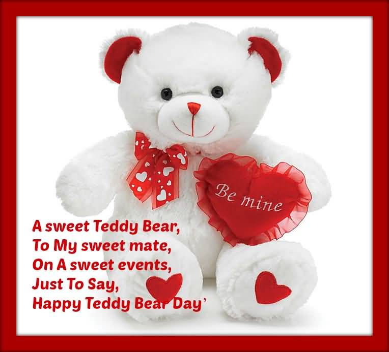Teddy Bear Day Pictures Images Graphics Comments