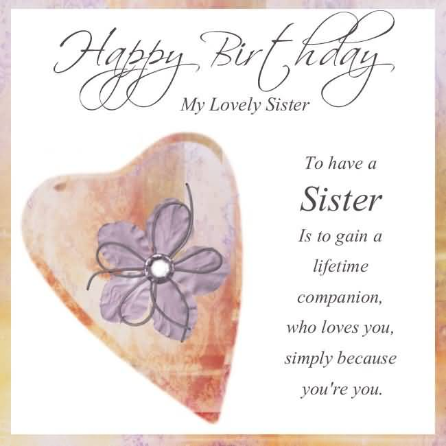 Sweet greetings happy birthday for lovely sister birthday sweet greetings happy birthday for lovely sister bookmarktalkfo Choice Image